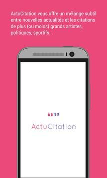 ActuCitation poster