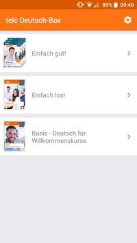 telc Deutsch-Box plakat