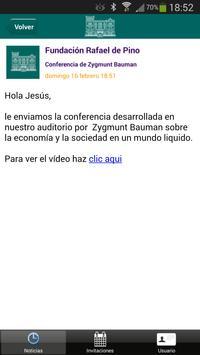 Fundación Rafael del Pino screenshot 4