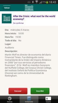 Fundación Rafael del Pino screenshot 2