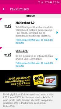 Tele2 Eesti apk screenshot