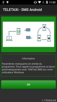 TELETAXI - SMS Com poster