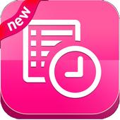 حساب الدورة الشهرية - الحاسبة الوردية بدون انترنت icon