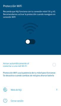 Niji Protección Wi-Fi apk screenshot