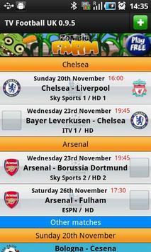 TV Football UK poster