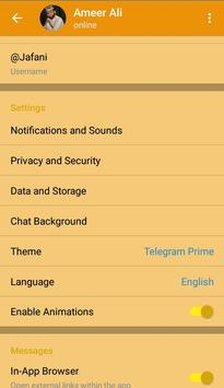 Telegram Prime screenshot 2