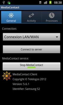 MediaContact MDM agent apk screenshot