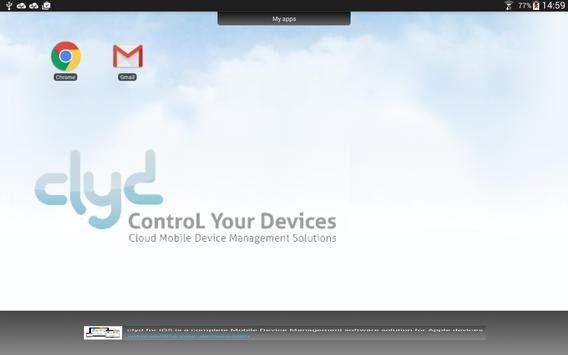 clyd Kiosk Standalone Lockdown apk screenshot