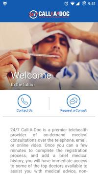 24/7 Call-A-Doc poster