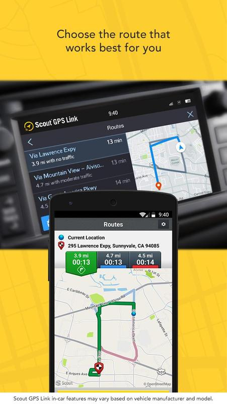 Scout Gps Navigation And Maps