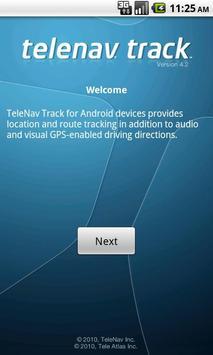 TeleNav Track screenshot 1