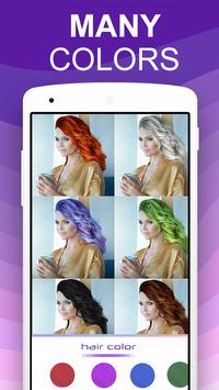 Teleport Pro Photo Editor Change Hair Color APK Download - Hair colour editor download