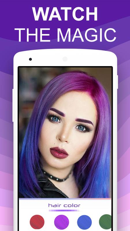 Teleport Pro Photo Editor Change Hair Color Apk Download Free