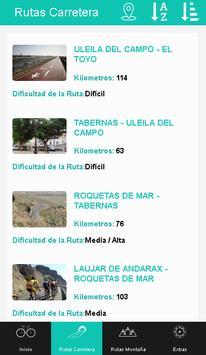 Almería en Bici poster