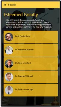 Elite Arthroplasty Congress apk screenshot