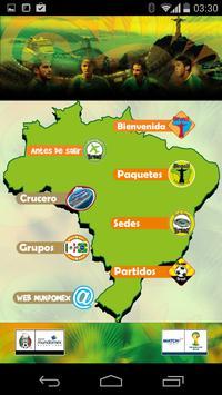 Mundomex Brasil 2014 poster