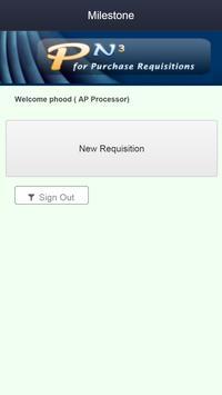 PN3 Requisitions apk screenshot