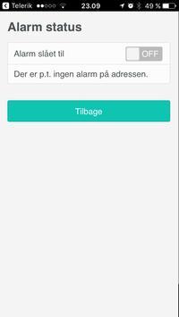 Lenio Alarm screenshot 1