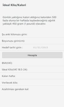 İdeal Kilo VKİ (BMI) poster