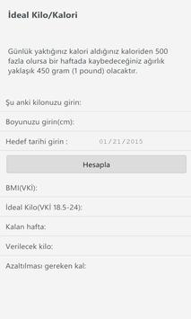 İdeal Kilo VKİ (BMI) apk screenshot