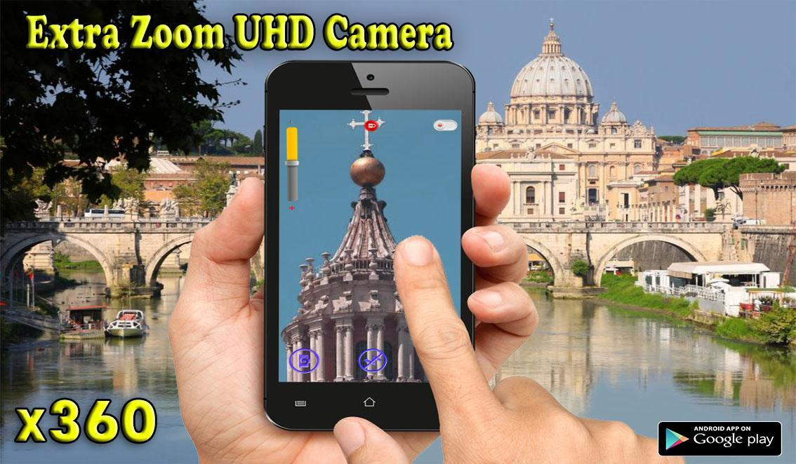 Big Zoom Camera Télescope HD X360 for Android - APK Download