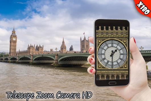 Real Telescope Big Zoomer HD - Free screenshot 5