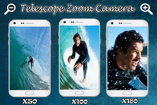 Real Telescope Big Zoomer HD - Free poster