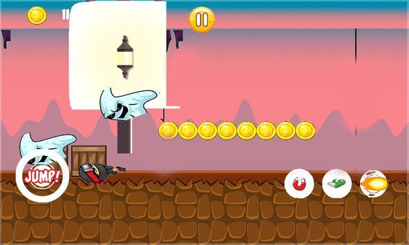 Ninja Ghost Hunted apk screenshot
