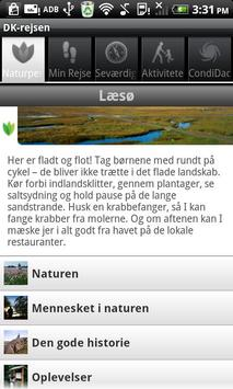 Danmarksrejsen apk screenshot
