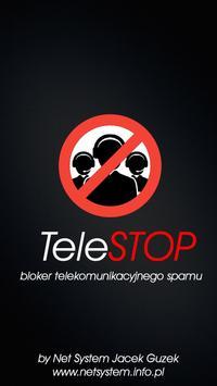 TeleSTOP call blocker poster
