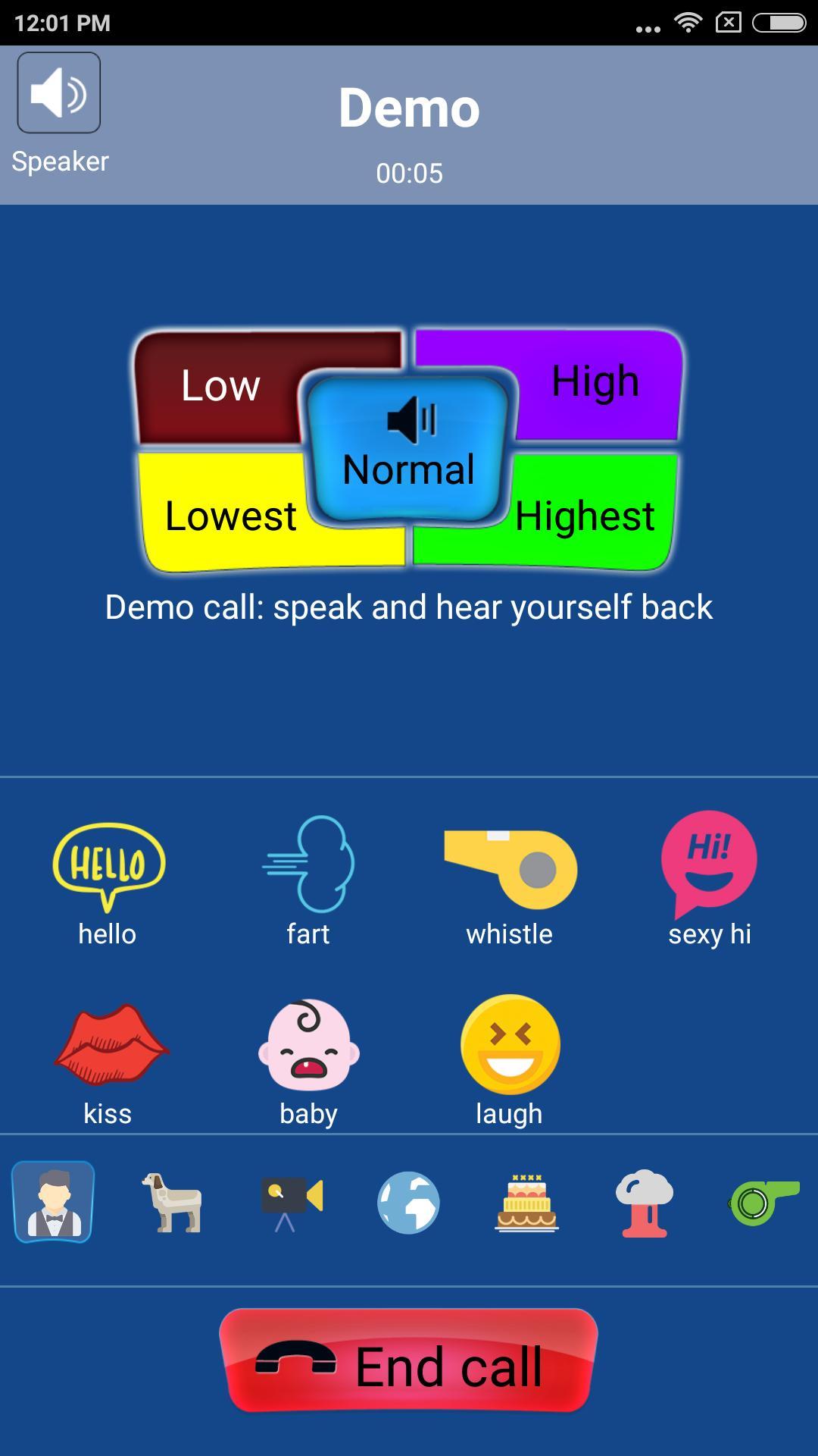 call voice changer apk mod download
