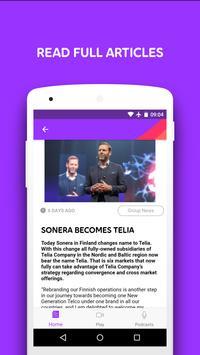 Telia Company News apk screenshot
