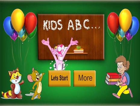 Kids ABC poster