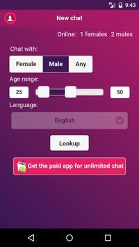 Chaber: Blind Chat (beta) screenshot 3