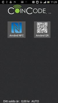 Coincode – Mobile payment poster