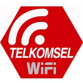 Telkomsel WiFi icon