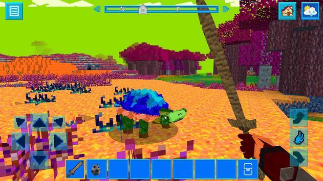 AlienCraft - Survive & Craft apk screenshot