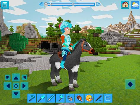 PrimalCraft: Free Block Craft with Minecraft Skins Cartaz