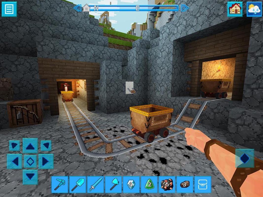 PrimalCraft Block Build Spiele With Minecraft Skin APKDownload - Minecraft skins spiele