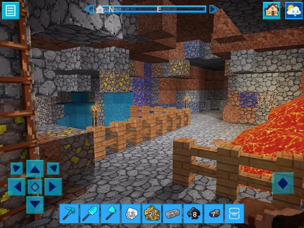 PrimalCraft Block Build Spiele With Minecraft Skin APKDownload - Minecraft auf zwei pc spielen
