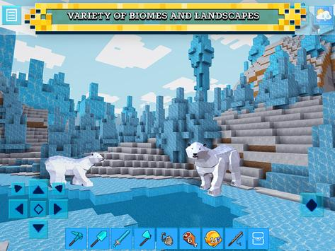 Schermata apk RealmCraft with Skins Export to Minecraft