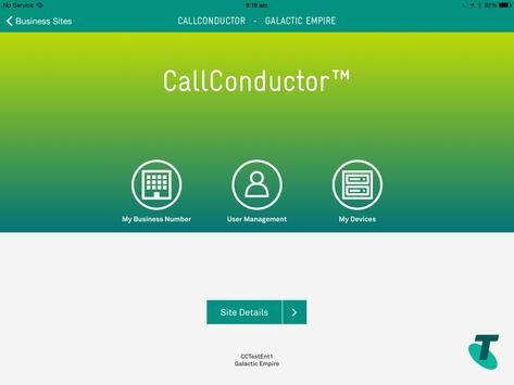 Call Conductor poster