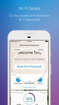 Telstra Home Dashboard™ apk screenshot