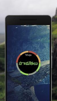 Telugu Samethalu with Meaning poster