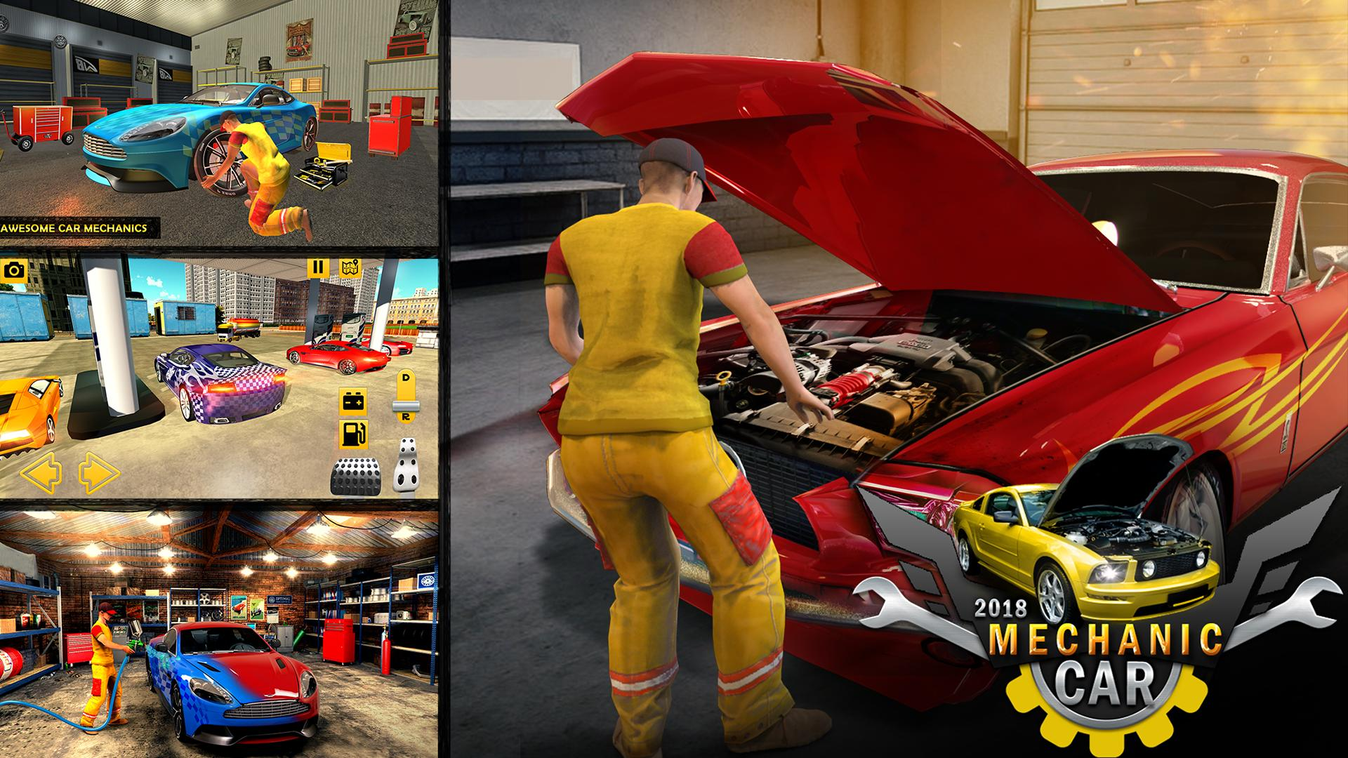 Car Mechanic Simulator 2018 – Car Fixing Game for Android - APK Download