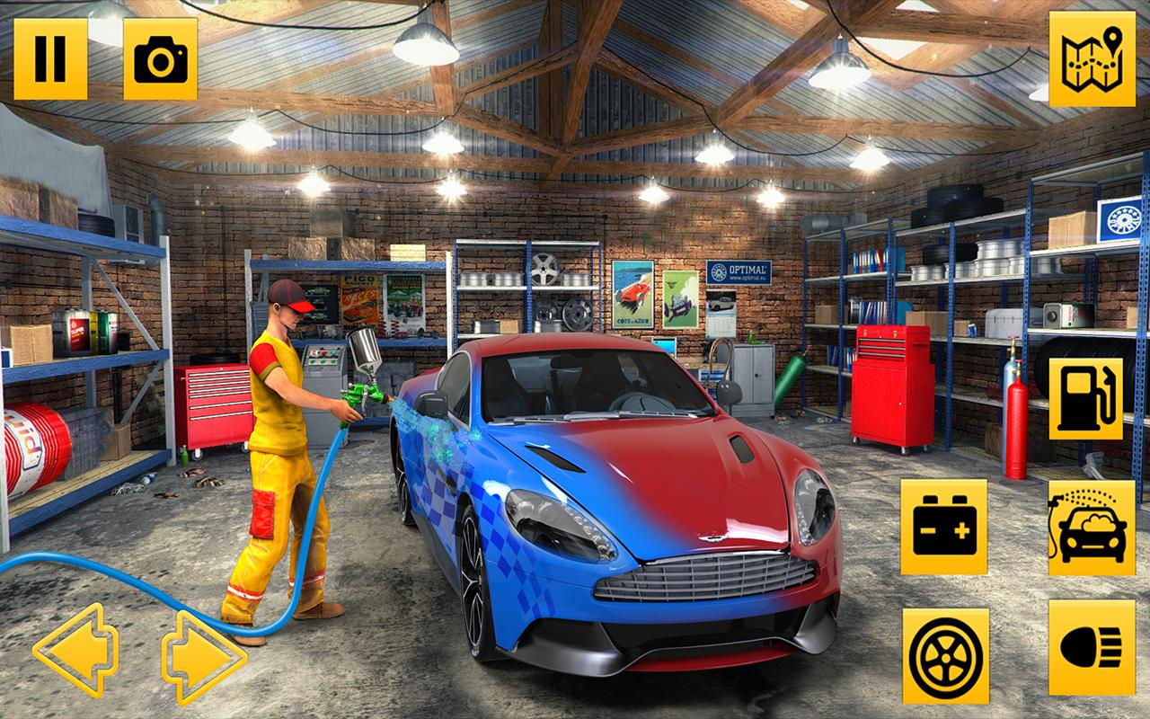 car mechanic simulator 2018 car fixing game for android. Black Bedroom Furniture Sets. Home Design Ideas