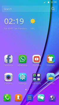 Theme for Samsung Galaxy Note7 poster