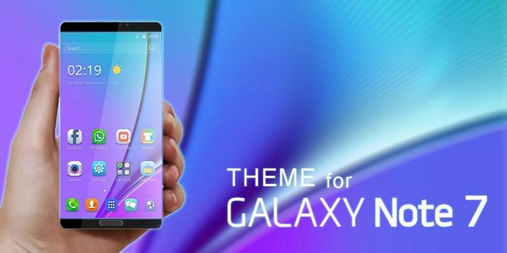 Theme for Samsung Galaxy Note7 apk screenshot