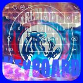 Tema keyboard Arema icon