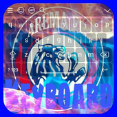 Tema keyboard Arema icon